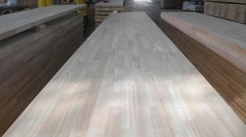 laminated rubber wood