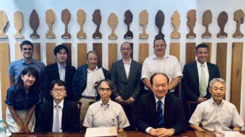 Japanese Delegation at Tradelink